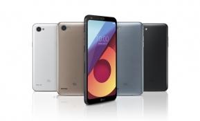 準 프리미엄 스마트폰 LG Q6 첫 선