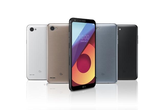 LG전자, 準 프리미엄 스마트폰 LG Q6 첫 선
