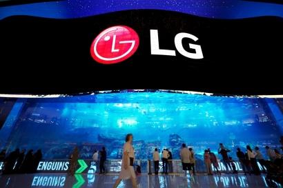 '배구 코트 4개를 합친 것 보다 큰' LG전자, 두바이에 세계 최대 '올레드 사이니지' 설치