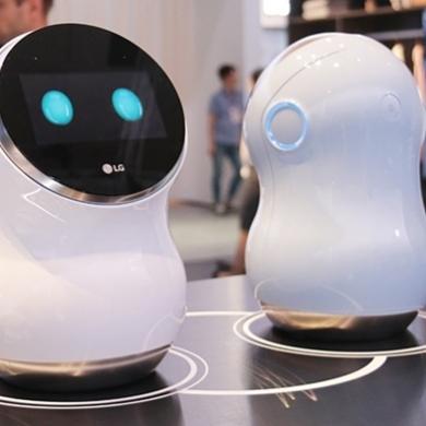 LG 스마트홈이 그린 가까운 미래 가정의 모습은?