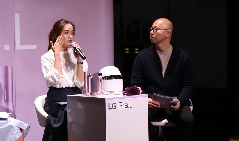 LG 프라엘 론칭 현장