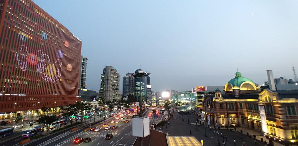 'LG V30' 시네비디오로 촬영한 도심 풍경
