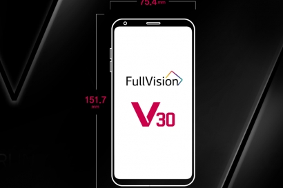 극한 미니멀리즘, 'LG V30' 디자인의 진화