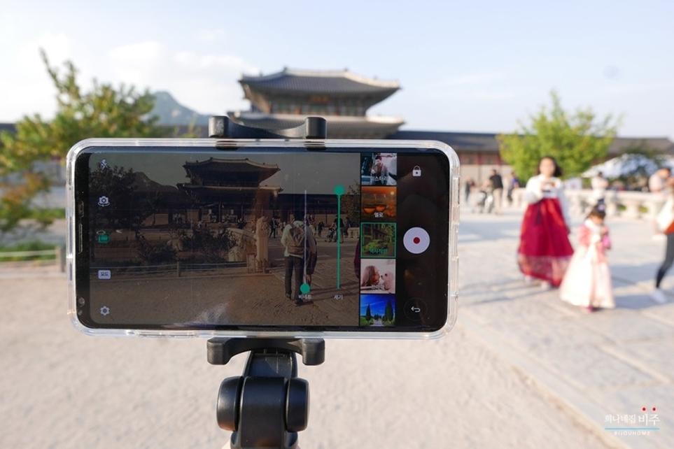 'LG V30'로 담은 경복궁 풍경