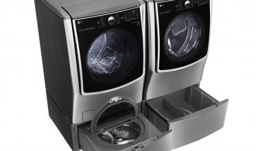 LG전자 트윈워시 세탁기와 건조기 세트