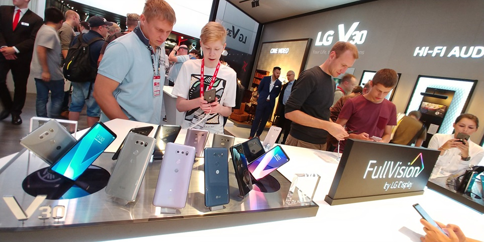 LG V30 현장