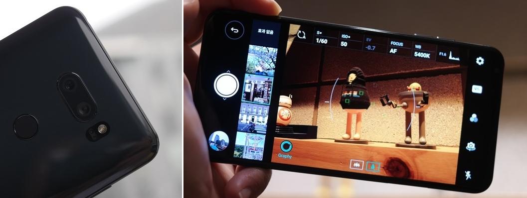 스마트폰 최초 F1.6 크리스탈 렌즈로 더욱 밝고 선명해진 '진일보한 카메라'