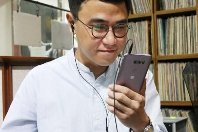 배순탁 음악 작가도 반한 'LG V30'의 프리미엄 사운드