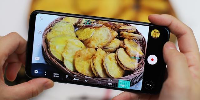 튀김의 바삭함도 담아내는 'LG V30'로 음식 촬영하기!