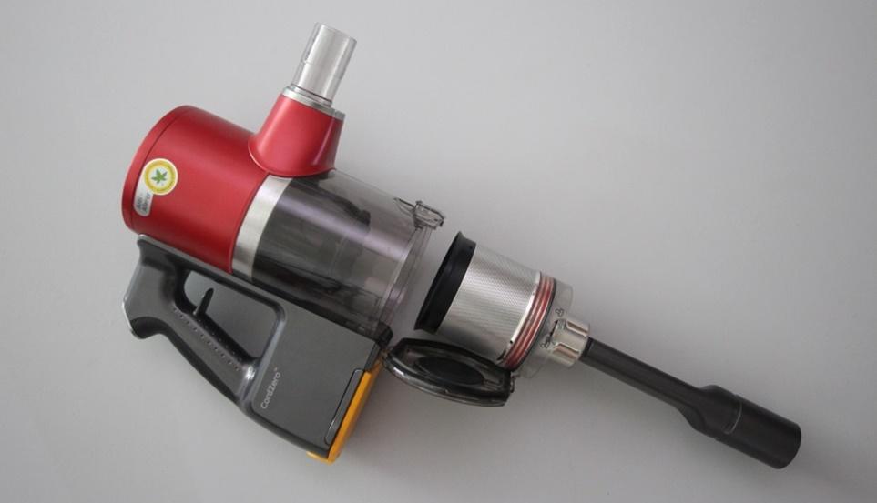 LG 코드제로 A9에 탑재한 '2중 터보 싸이클론(Axial Turbo Cyclone™)'
