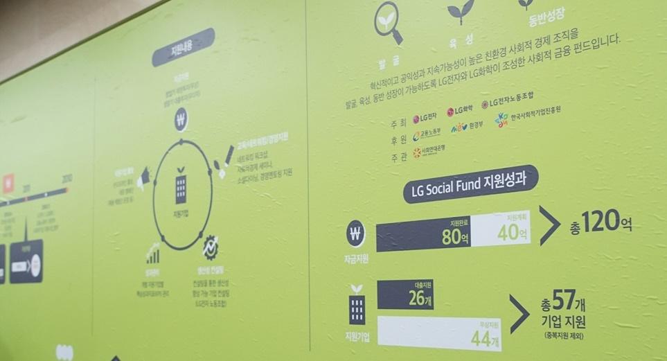 LG소셜캠퍼스 지원 내용 및 지원 성과