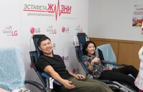 LG전자 임직원, 헌혈로 모은 기부금 어린이 위해 쓴다