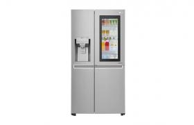 英서 별 5개 만점 받은 LG 노크온 매직스페이스 냉장고