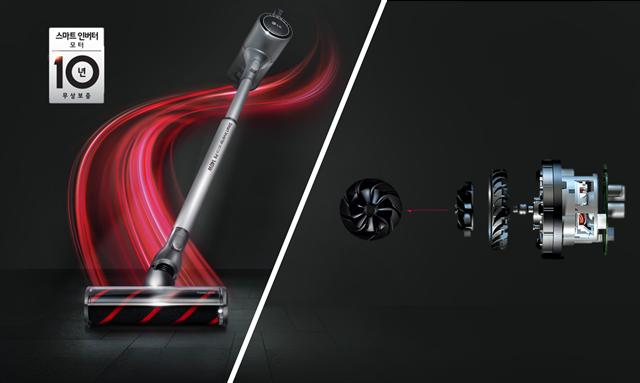 LG 가전 경쟁력의 근간, '인버터 모터'