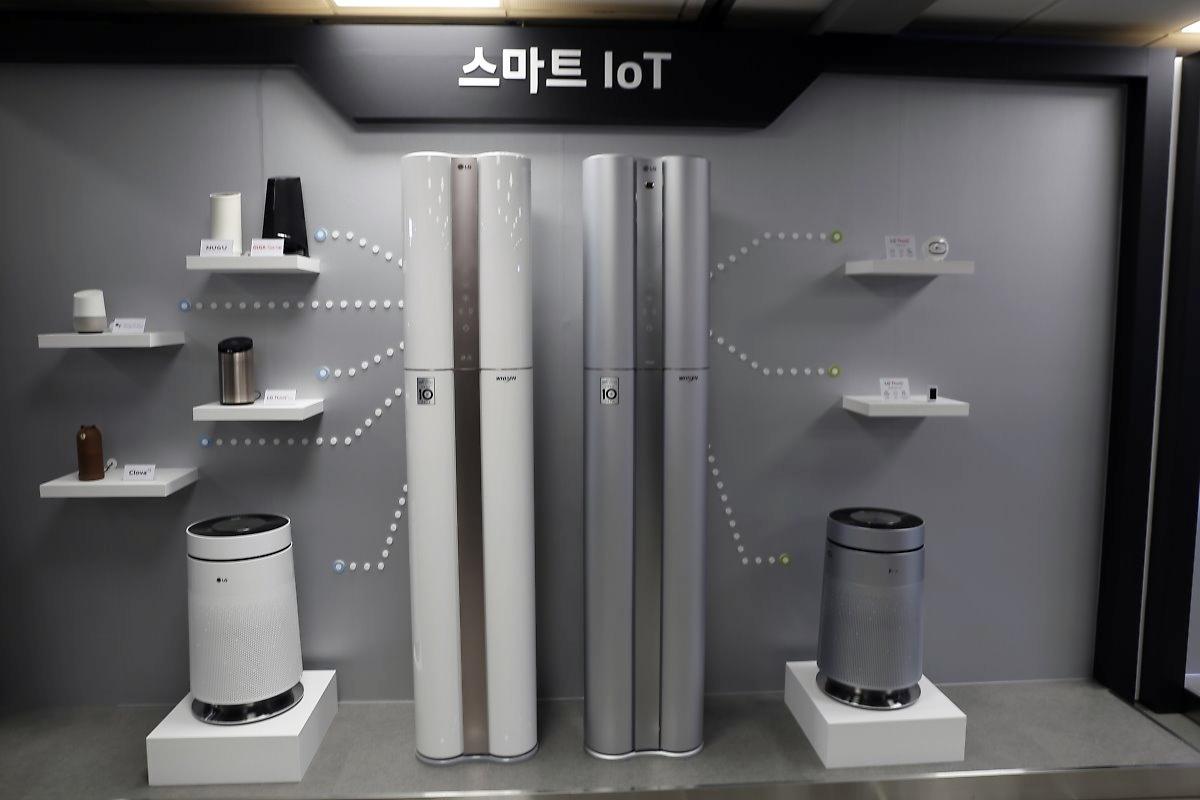 LG 인공지능 스피커 '씽큐 허브' 외에도 다양한 AI 스피커와 연동
