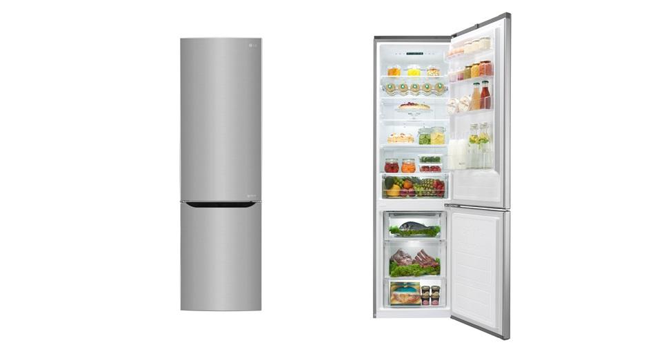 LG전자 프리미엄 냉장고가 유럽 주요 7개 국가에서 연이어 최고 평가를 받았다. LG 냉장고는 모터가 직선 운동을 하는 인버터 리니어 컴프레서를 탑재해 성능과 효율이 높다. 사진은 LG전자의 343리터 상냉장 하냉동 냉장고(모델명: GBB60PZEFS).