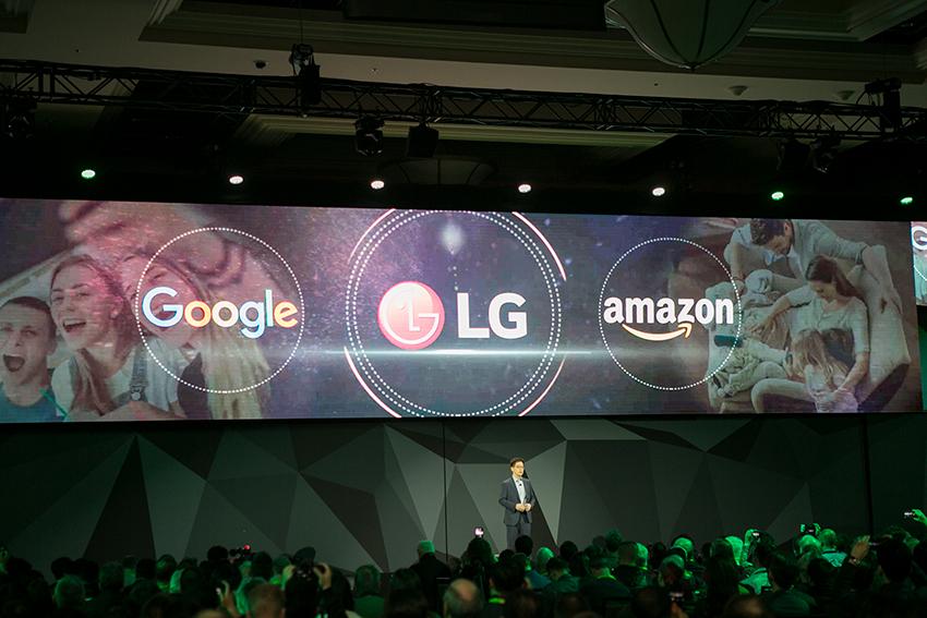 'CES 2018' LG 프레스 컨퍼런스 현장