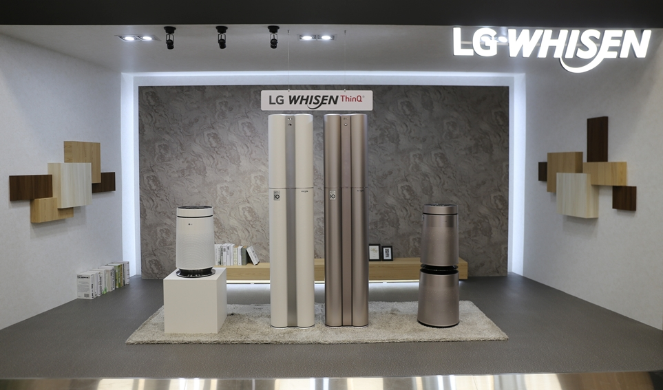 LG 휘센 씽큐 에어컨과 LG 퓨리케어 공기청정기