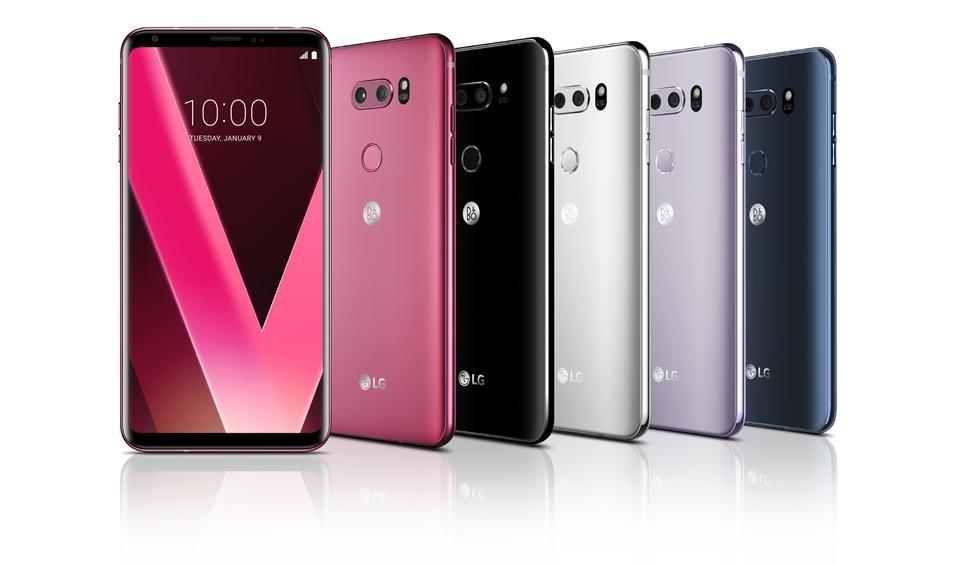 'LG V30'의 오색찬란 5가지 컬러