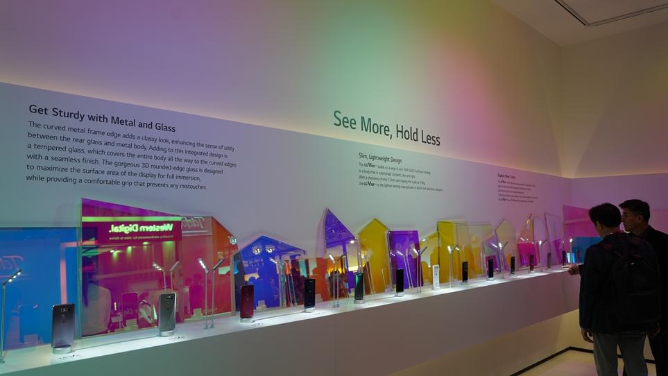 MWC 2018에서 선보인 LG 디자인 갤러리