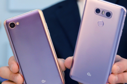 LG G6, Q6 타고 돌아온 '라벤더 바이올렛'