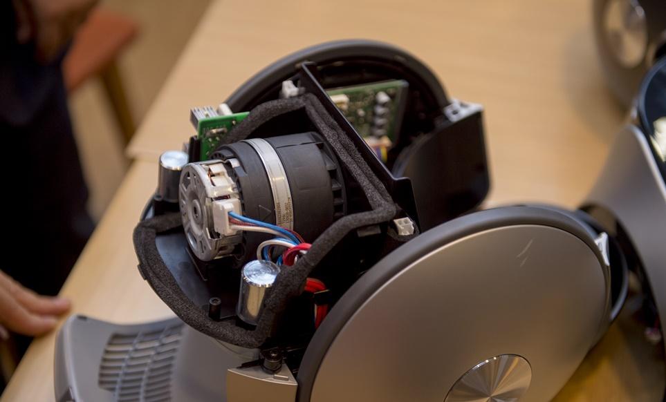 'LG 코드제로 T9'에 탑재한 '스마트 인버터 모터 P8'