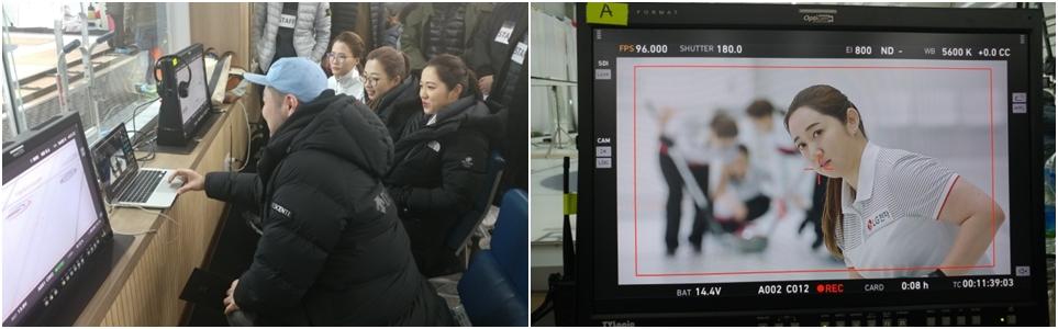 LG 코드제로 TV광고 현장