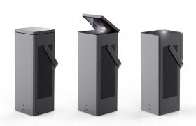 LG전자가 영화관처럼 크고 선명한 화면, 편리한 사용 등 가치를 제공한다는 의미의 새로운 빔프로젝터 브랜드 'LG 시네빔'을 23일 론칭하고 첫 제품인 'LG 시네빔 레이저 4K'를 출시한다. 이 제품은 4K UHD 해상도에 2,500안시루멘 밝기를 갖췄다. 설치 편의성이 뛰어나 올해 CES 최고혁신상, 레드닷 최고 제품상 등을 받은바 있다.