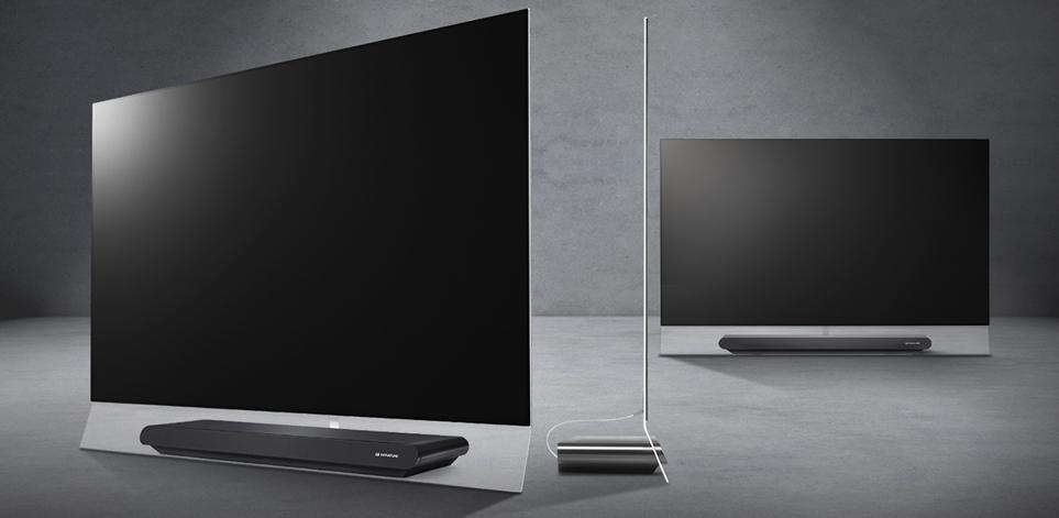 베젤을 최소화 한 LG  TV