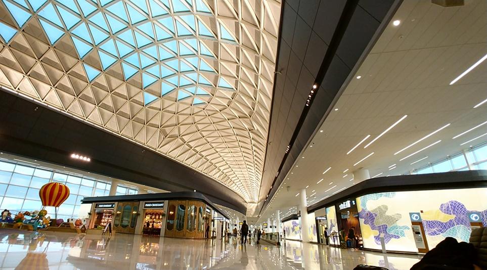 인천국제공항 제2여객터미널 전경
