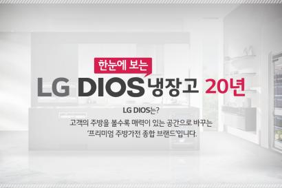 20주년 맞은 'LG 디오스' 내달까지 고객감사 행사
