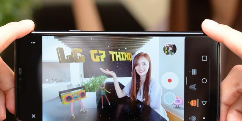 LG G7 <sup>ThinQ</sup>, 'AR 스티커'로 더욱 즐거워진다