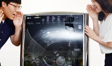 말하는 대로 작동하는 '트롬 씽큐 세탁기'가 궁금해요!
