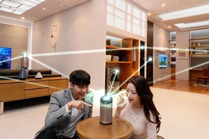 집에 인공지능 'LG 씽큐' 있나요?