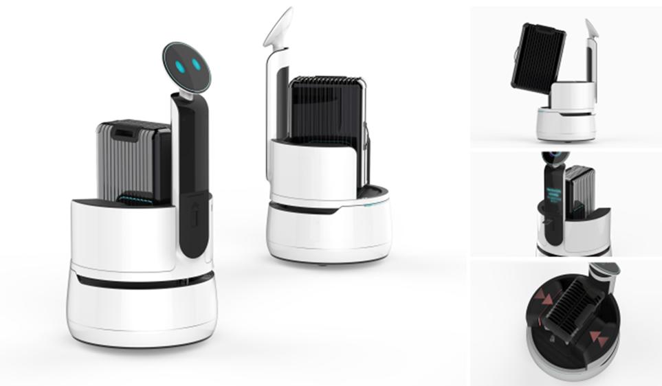 'LG 클로이' 포터 로봇