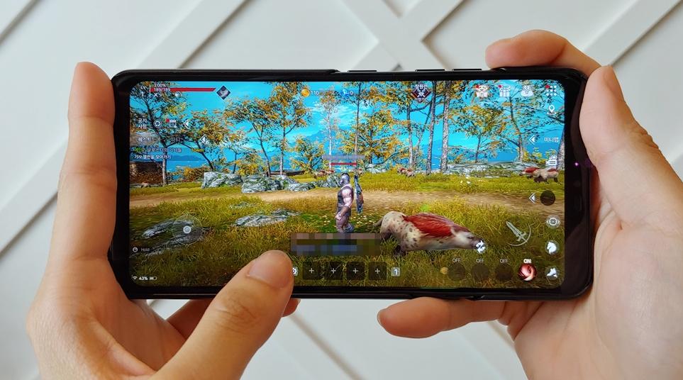 LG G7 ThinQ의 모바일 게임