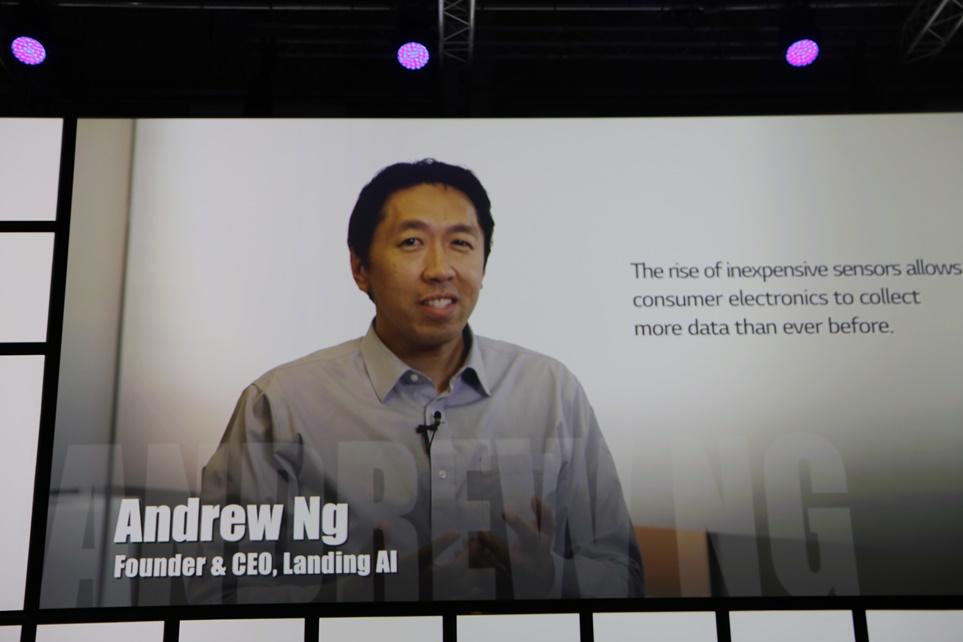 박 사장은 인공지능 석학 앤드류 응(Andrew Ng) 박사와의 인터뷰 영상