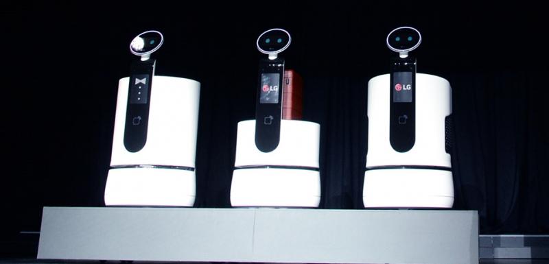 [LG 클로이] 로봇이 고객과 교감을? 배송로봇 3종