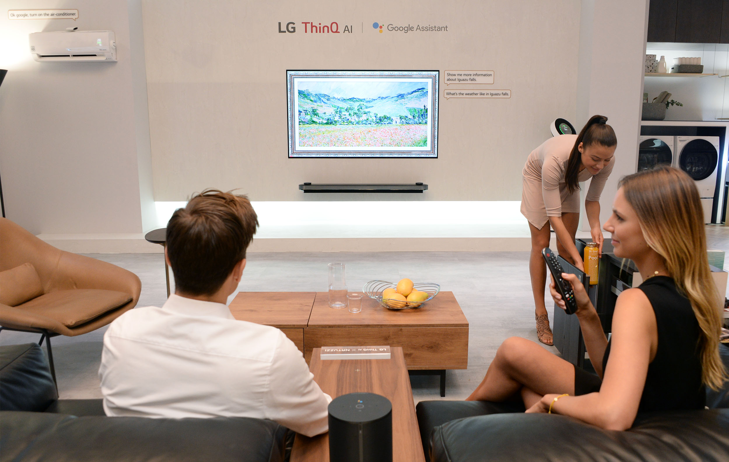 8월 31일부터 9월 5일까지 독일 베를린에서 열리는 IFA 2018에서 LG전자가 인공지능 '씽큐' 제품들을 대거 선보였다