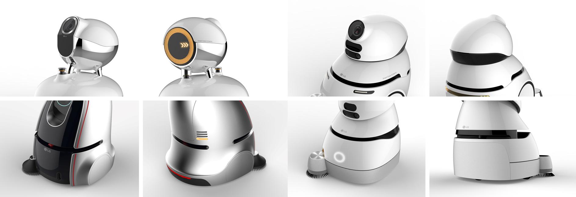 '청소 로봇' 초기 디자인