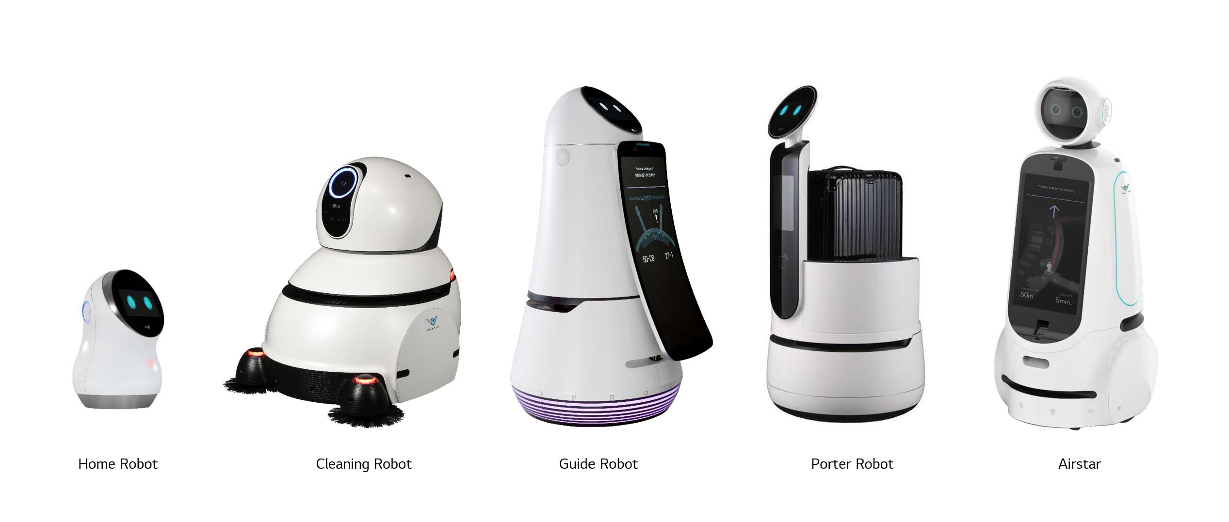 'LG 클로이' 로봇 제품군
