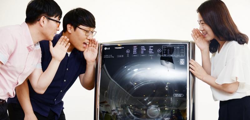 [트롬 씽큐 세탁기] 말하는 대로 작동하는 세탁기가 있다?!
