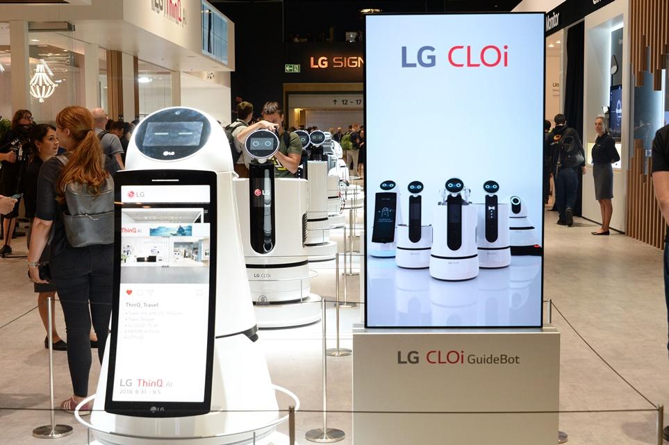 'LG 클로이' 로봇