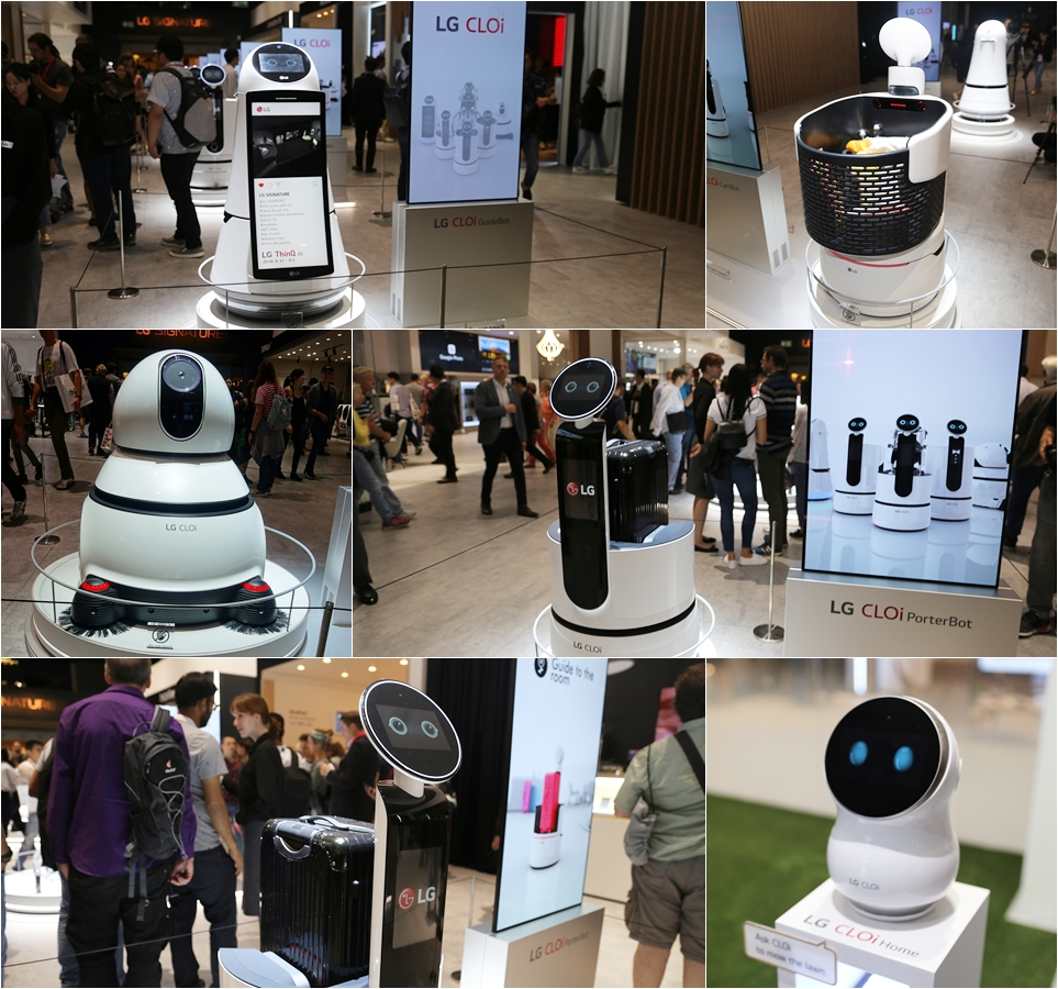 'IFA 2018' LG 클로이 로봇