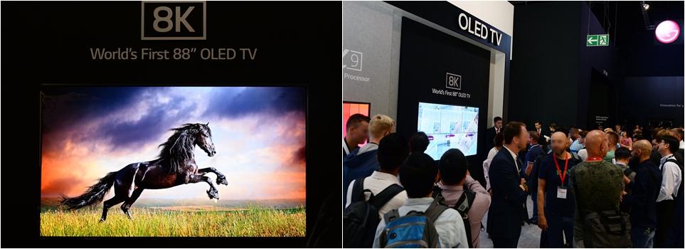 'IFA 2018' 8K 올레드 TV