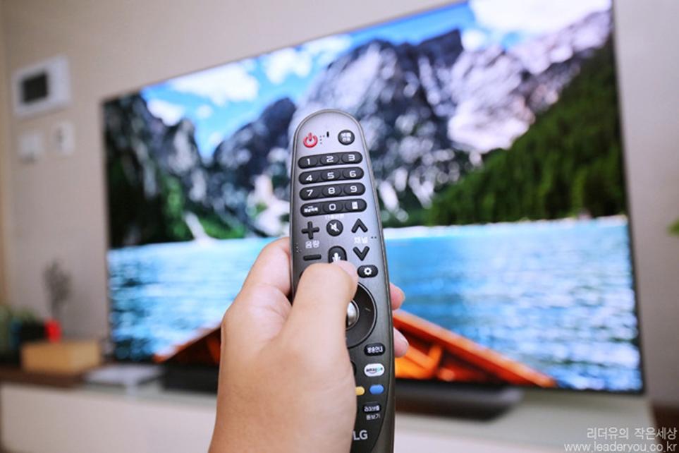 LG 올레드 TV AI 씽큐 리모컨