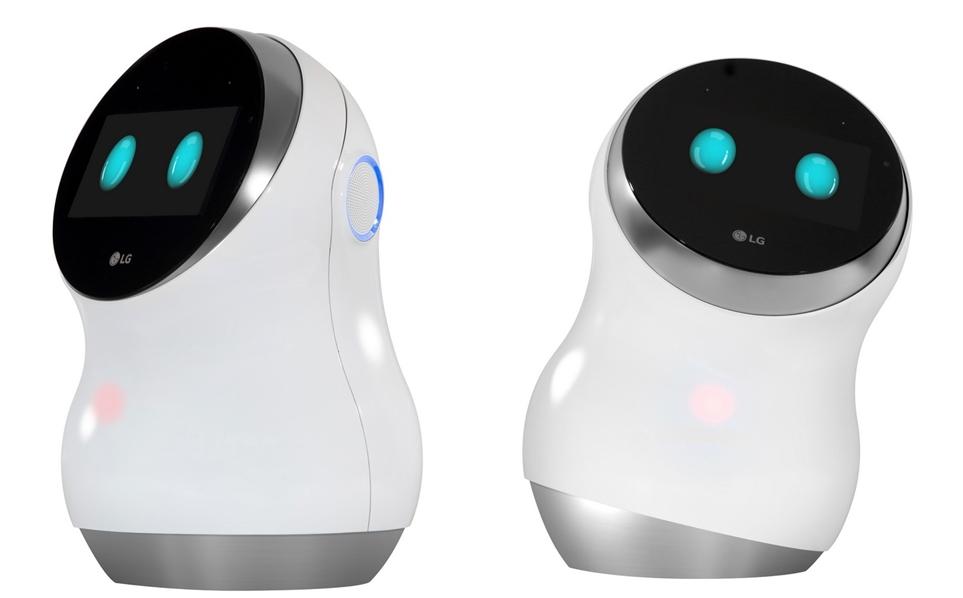 'LG 클로이 홈' 로봇