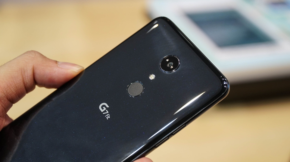 'IFA 2018' LG G7 fit