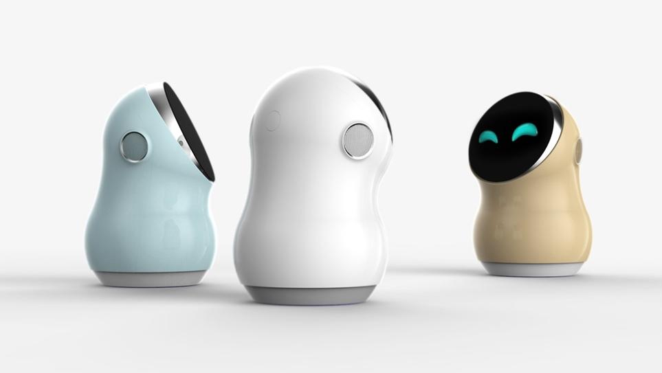 'LG 클로이 홈' 로봇 초기 설정 디자인