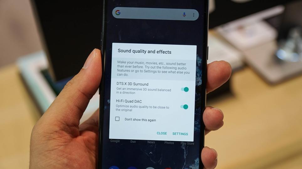 'IFA 2018' LG G7 one, LG G7 fit에 적용된 '하이파이 쿼드 DAC'과 'DTS:X 입체음향'